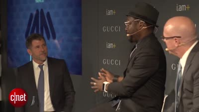 Will.I.Am and Gucci partner on luxury smartband
