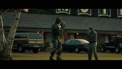 Real Steel - Charlie Teaches Atom