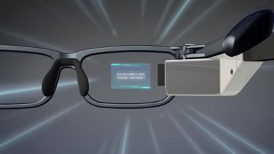 Toshiba Glass: for Wearable Information