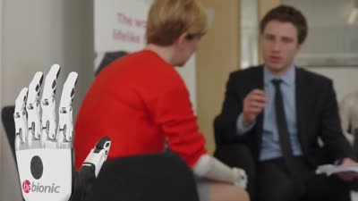 Bebionic Media Launch with the UK's First User