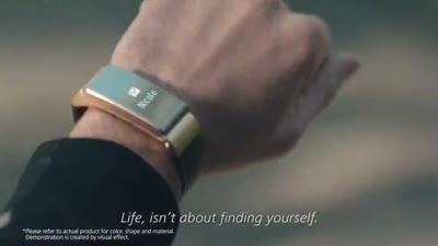 Love with Huawei TalkBand B2: Love life and life will love you back in his eyes