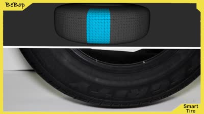 BeBop: Smart Tire Sensor