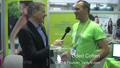 Oded Cohen, CEO & Founder of UpRight at CES 2015