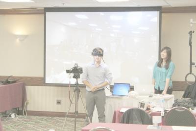 Meta Augmented Reality Demonstration