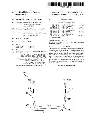 US Patent 9,128,283 Bl: Dynamically adjusting a tension of at least a portion of a frame of wearable computing device (Google, Inc)