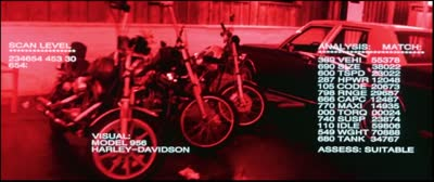 Terminator 2 - Augmented Vision - Clothes, Boots, Motorcycle