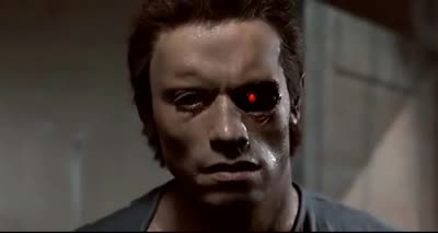 Terminator - Removing His Eye