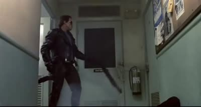 The Terminator - First Person Shooter Terminator Vision