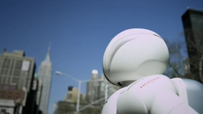 ASIMO Visits The Big Apple