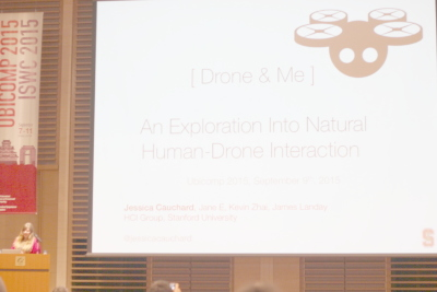 Drone & Me: An Exploration Into Natural Human-Drone Interaction
