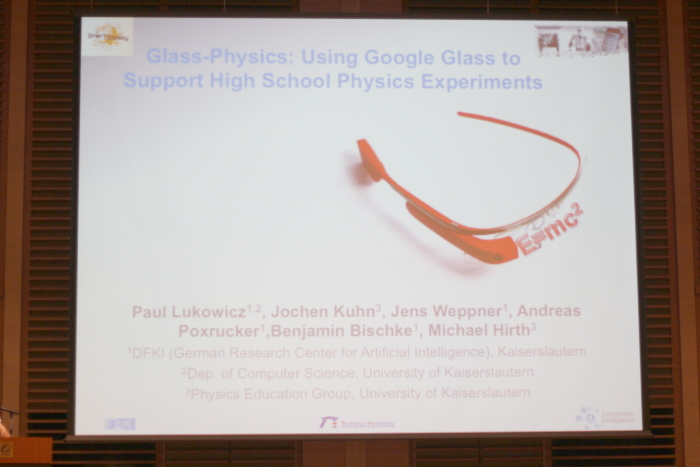 Glass-Physics: Using Google Glass to Support High School Physics Experiments