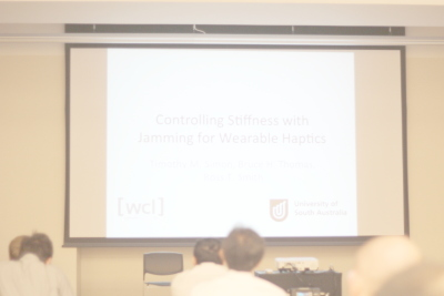 Controlling Stiffness with Jamming for Wearable Haptics