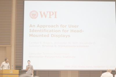 An Approach for User Identification for Head-Mounted Displays (HMD)