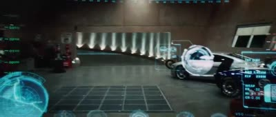 Iron Man - Activating Jarvis, First Flight, Heads Up Display