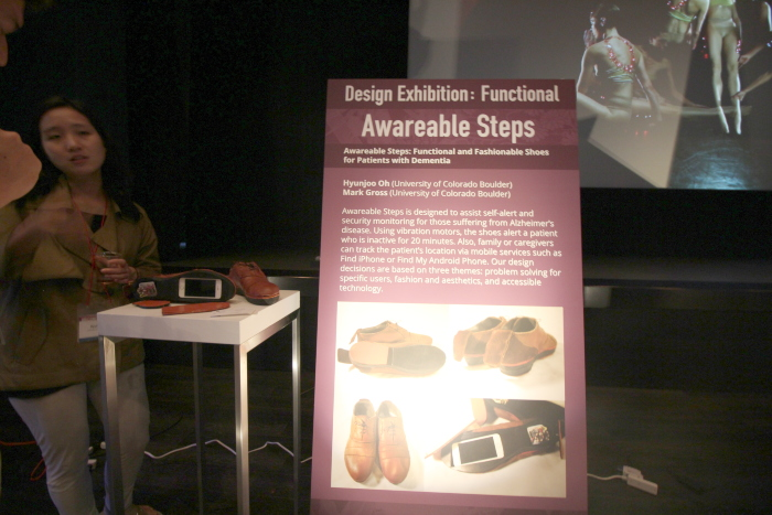 Awareable Steps: Functional and Fashionable Shoes for Patients with Dementia