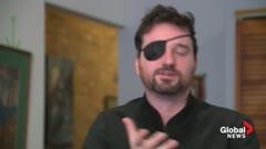 Cyborg filmmaker talks about camera eye