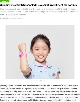 Xiaomi's smartwatches for kids is a smart investment for parents
