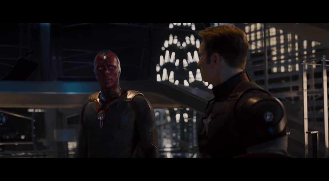 Avengers: Age of Ultron - Vision Lifts Hammer Clip