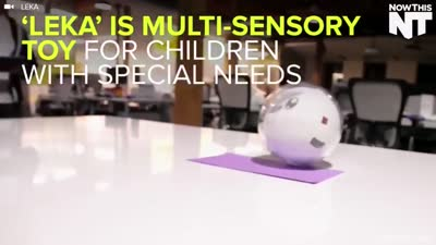 Robot Helps Teaching Special Children