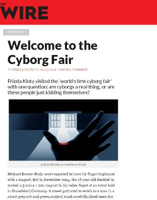 Welcome to the Cyborg Fair
