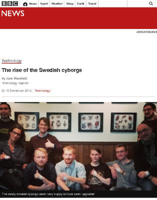 The rise of the Swedish cyborgs