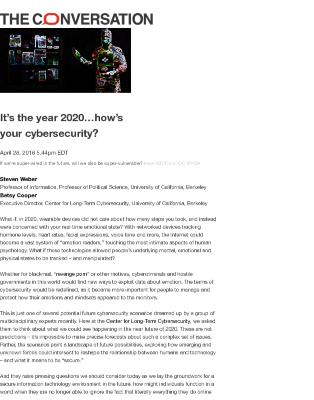 It's the year 2020…how's your cybersecurity?