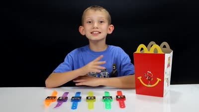 Step-It Activity Bands | McDonalds Happy Meal Toy Review