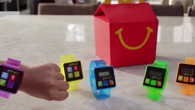 McDonald's takes fitness trackers out of Happy Meals