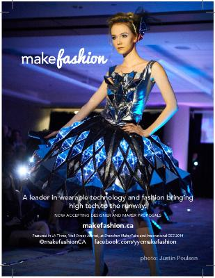 MakeFashion 2014 General Promotional Poster/Postcard