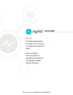 Nymi whitepaper