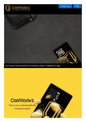 CoolWallet - The Ultimate Bitcoin Safe