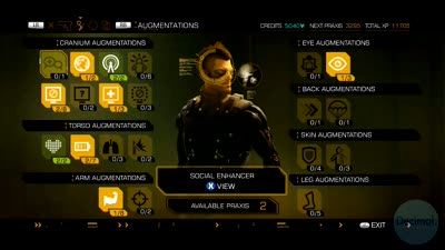 Deus Ex: Human Revolution - Glass-Shield Cloaking System Augment