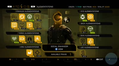 Wall Punch Strength Augment - Deus Ex: Human Revolution