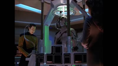 Star Trek: The Next Generation - Data vs. Locutus of Borg