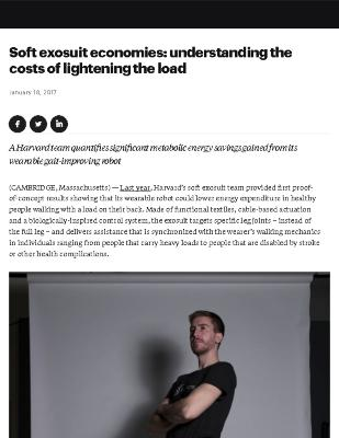 Soft Exosuit Economies: Understanding the Costs of Lightening the Load