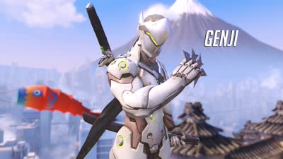 Genji Ability Overview | Overwatch