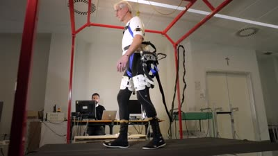 Exoskeleton Prevents Seniors From Falling