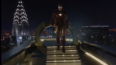 The Avengers - Tony Steps Out of the Suit