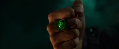 The Ring Sucks Hal Jordan Into Space