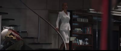Iron Man 3 - Tony Pilots the Mark 42 by Remote to Trick Pepper Potts