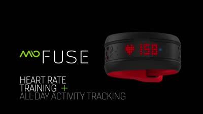Mio FUSE Heart Rate + Activity Tracker