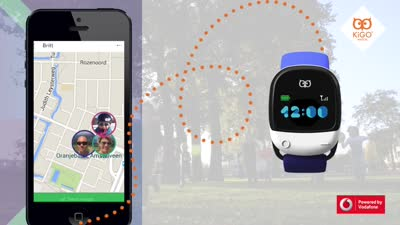 Kigo smart GPS watch for kids