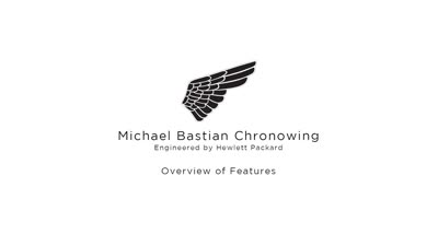 Michael Bastian Chronowing Engineered by HP