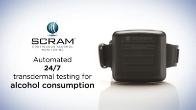 SCRAM Continuous Alcohol Monitoring®