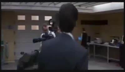 James Bond in Q's Lab