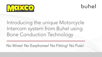 The Fantastic Buhel Intercom System using Bone Conduction Technology