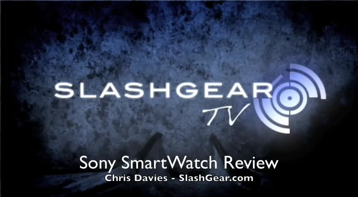 Sony SmartWatch Review