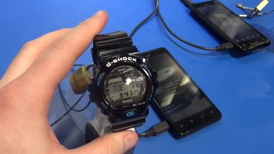 Casio G-Shock GB-6900 Bluetooth Smart Watch CES 2012