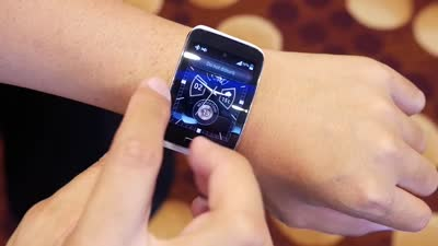 Samsung Gear S First Look!