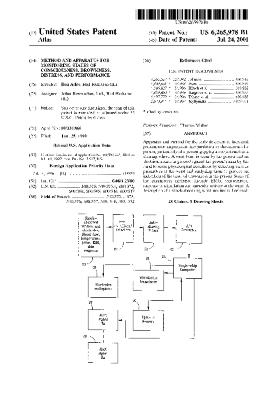 Method and apparatus for monitoring states of consciousness, drowsiness, distress, and performance (Patent US6265978)